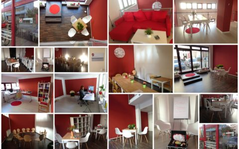 Collage Büro und Seminars